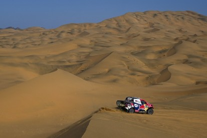 Al-Attiyah trims gap to Dakar leader Peterhansel with hat-trick stage win