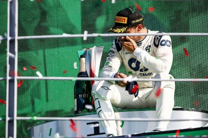 """Gasly remembers """"every single second"""" of shock F1 Italian GP victory"""
