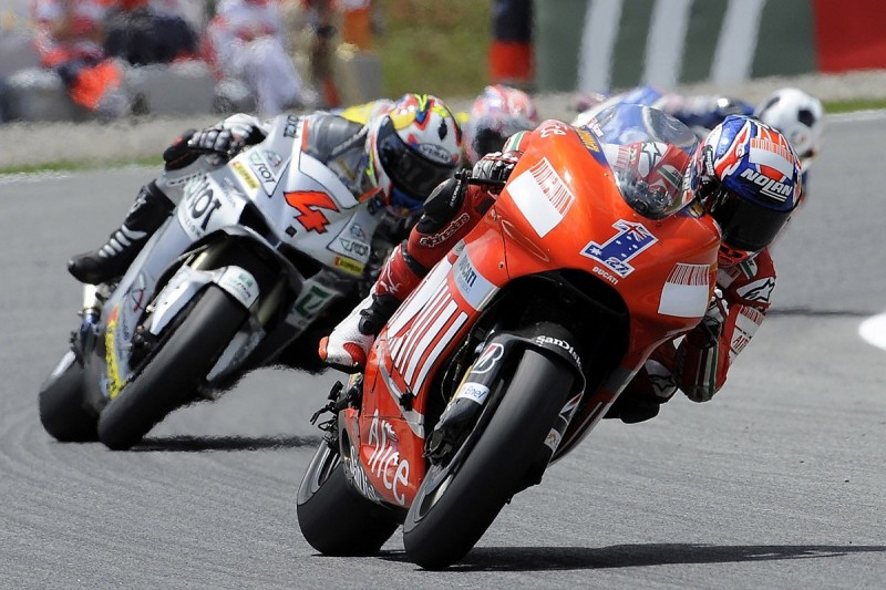 """Dovizioso names Stoner as """"most talented"""" MotoGP rival"""