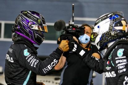 Hamilton: Bottas doesn't need to defend his 2020 F1 performances