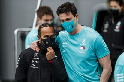 "Hamilton ""proud"" Wolff will continue as Mercedes F1 team principal"