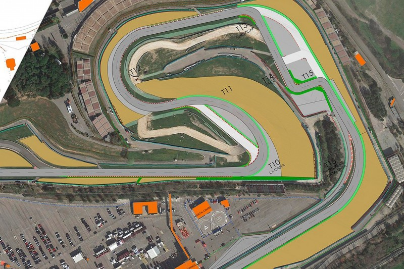 Barcelona circuit to use new Turn 10 layout after safety changes