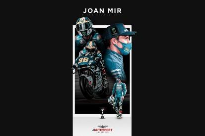 MotoGP world champion Joan Mir wins Autosport's Rider of the Year Award