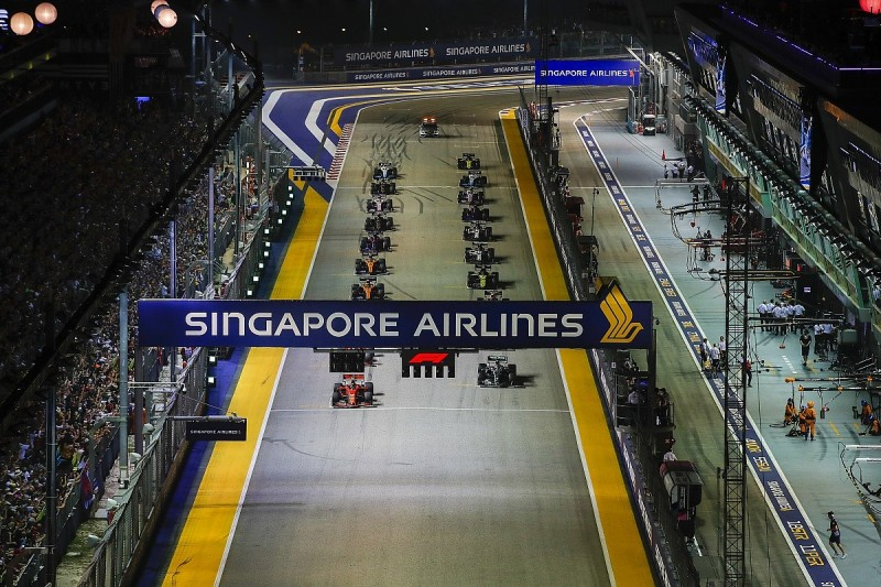 New lighting system to open up possibilities for more F1 night races