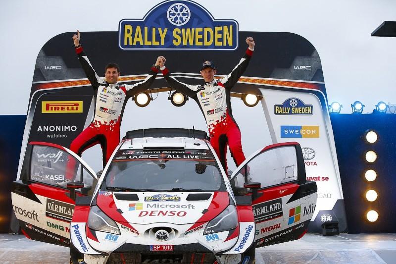 WRC announces 2021 Rally Sweden cancellation