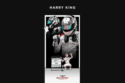 Harry King named Autosport's National Driver of the Year