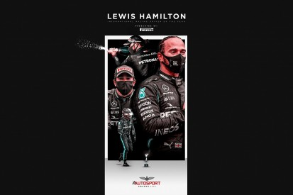 Hamilton wins Autosport's International Racing Driver of the Year Award