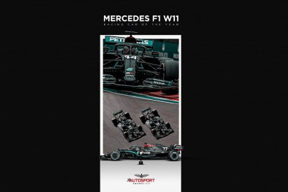 Mercedes W11 secures Autosport's International Racing Car of the Year Award