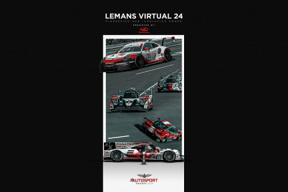 24 Hours of Le Mans Virtual wins Autosport's Pioneering and Innovation Award