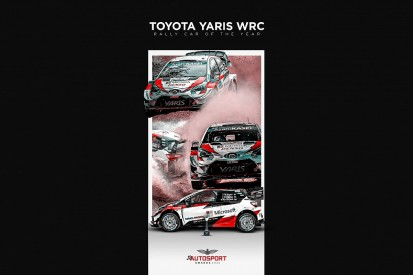 Toyota Yaris WRC takes Autosport's Rally Car of the Year Award