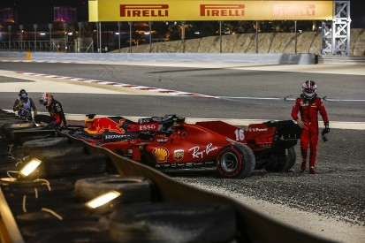 """Leclerc to """"choose the fights better"""" after first-lap clash in F1 Sakhir GP"""