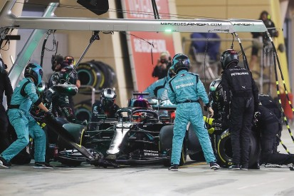 Mercedes under investigation for F1 Sakhir GP pitstop tyre mix-up