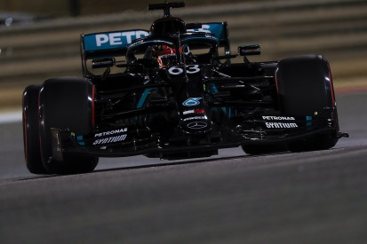 """Russell """"gutted"""" to narrowly miss first F1 pole on Mercedes debut"""