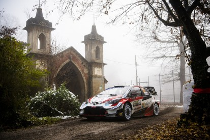 Evans crashes out of Rally Monza, Ogier in line for seventh title
