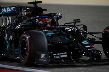 F1 Sakhir GP: Russell tops FP1 on Mercedes debut from Verstappen