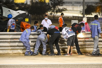 FIA and Bahrain circuit modifies Turn 3 barrier after Grosjean F1 crash
