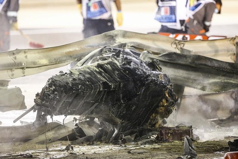 Vettel critical of F1 barriers in Grosjean's Bahrain crash
