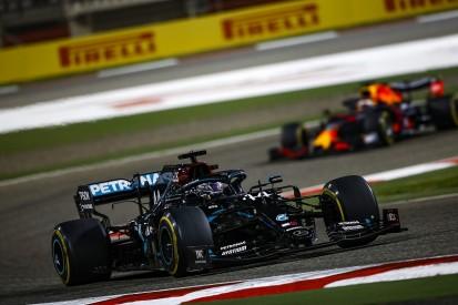 F1 Bahrain GP: Hamilton wins following Grosjean's fireball crash