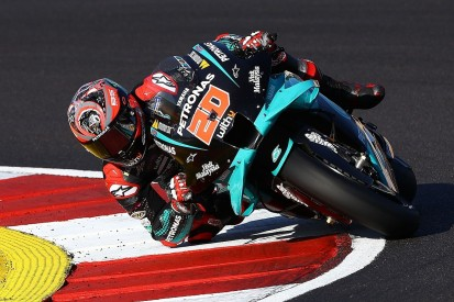 "Quartararo bemoans ""strange"" arm pump issue in Portugal MotoGP finale"