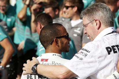 Hamilton explains Brawn role in convincing him to join Mercedes in F1