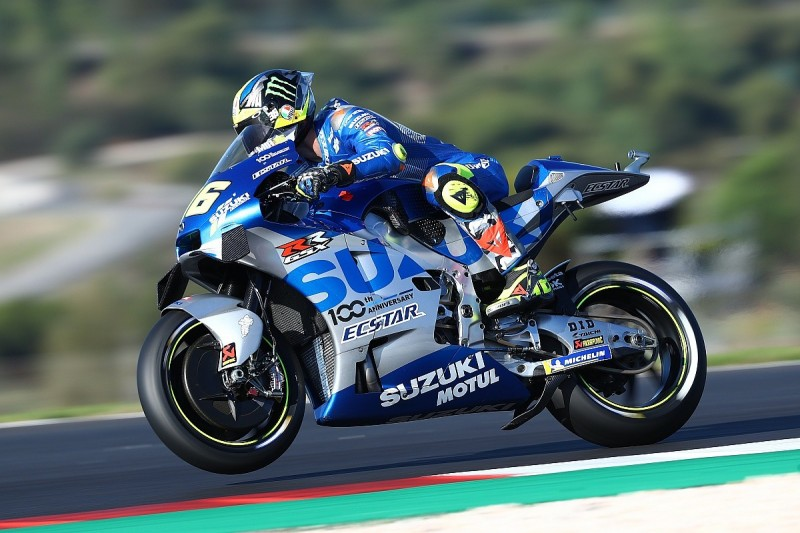 Mir's MotoGP Portugal qualifying day compromised by electronics issue