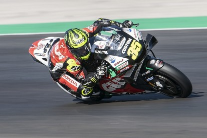 """Crutchlow """"put it on the line"""" for final MotoGP qualifying in Portugal"""