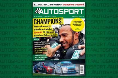 Magazine: Lewis Hamilton's seventh F1 title; MotoGP, BTCC, WEC finales