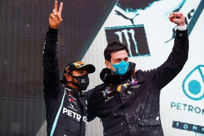 Wolff: Hamilton among all-time sporting greats with seventh F1 title