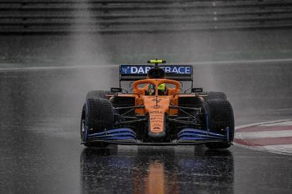 F1 cars felt no quicker on slippery Turkey track than F2 - Norris