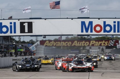 Sebring 12H: Montoya leads at half distance, title challengers in strife