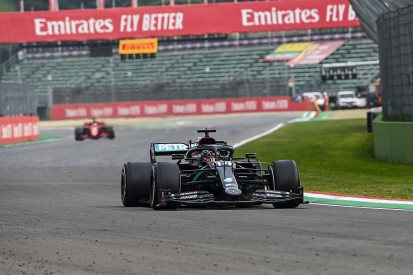 Pirelli investigating Hamilton's F1 Imola rear tyre vibration issue
