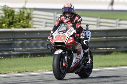 Valencia MotoGP: Nakagami leads Morbidelli in FP1