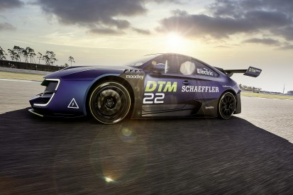 DTM unveils electric series demo car, set for 2023 support role