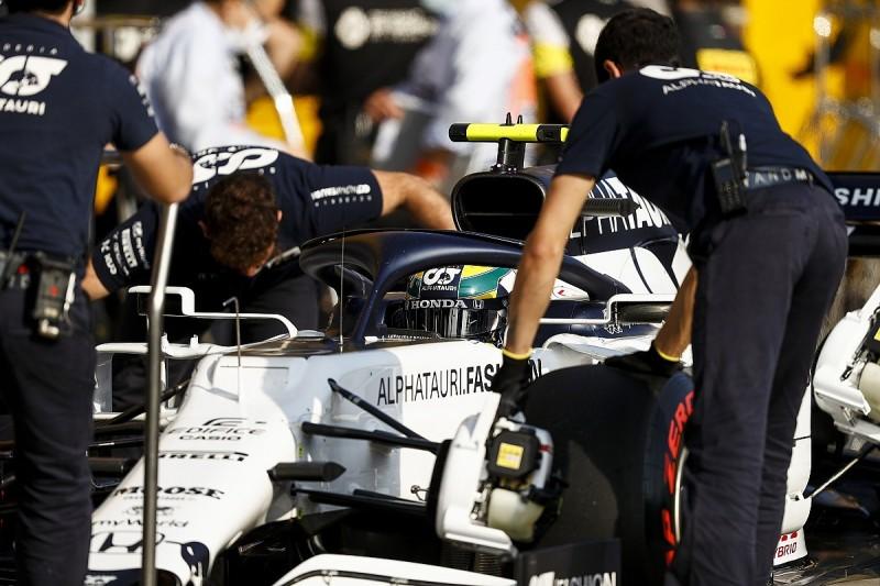 Weld failure triggered Gasly's F1 Emilia Romagna GP retirement