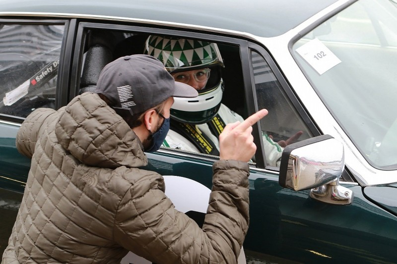 Photographer Amy Shore makes race debut in Jaguar XJS at Silverstone