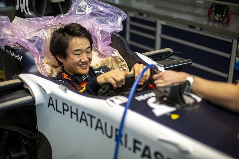 Tsunoda F1 graduation prospects grow with maiden AlphaTauri test