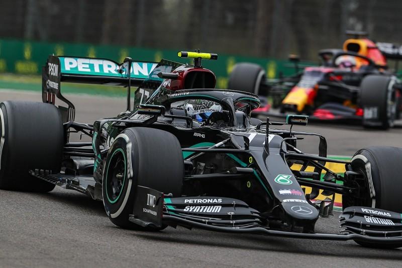 Mercedes didn't believe Bottas' Imola F1 floor issue initially