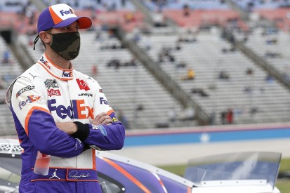 "Denny Hamlin pledges to be ""hands on"" owner in new 23XI NASCAR team"