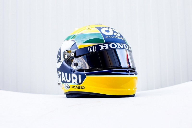 Gasly to race Senna tribute helmet at F1 Emilia Romagna GP