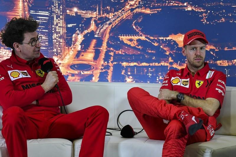 Binotto mentally rehearsed Vettel Ferrari F1 future phone call three times