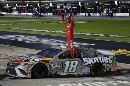 Busch takes first 2020 NASCAR Cup win in heavily-delayed Texas race