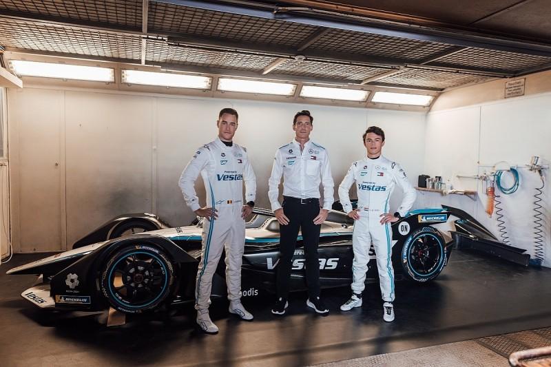 Mercedes Formula E team drops black livery for 2020-21