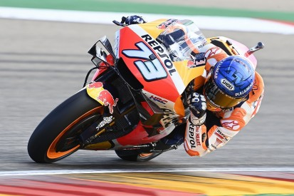 Marquez: Better to crash fighting for MotoGP podium than just points