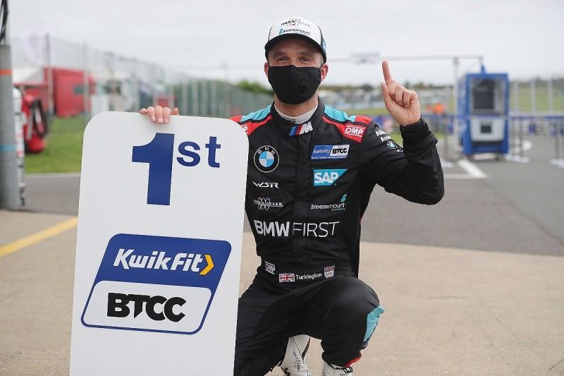BTCC Snetterton: Turkington grabs last-lap pole in new quali format