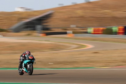 Quartararo 'doesn't have pace' to fight for Teruel MotoGP win