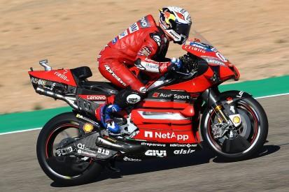 """Dovizioso: Ducati """"didn't make any step forward"""" in Teruel MotoGP practice"""