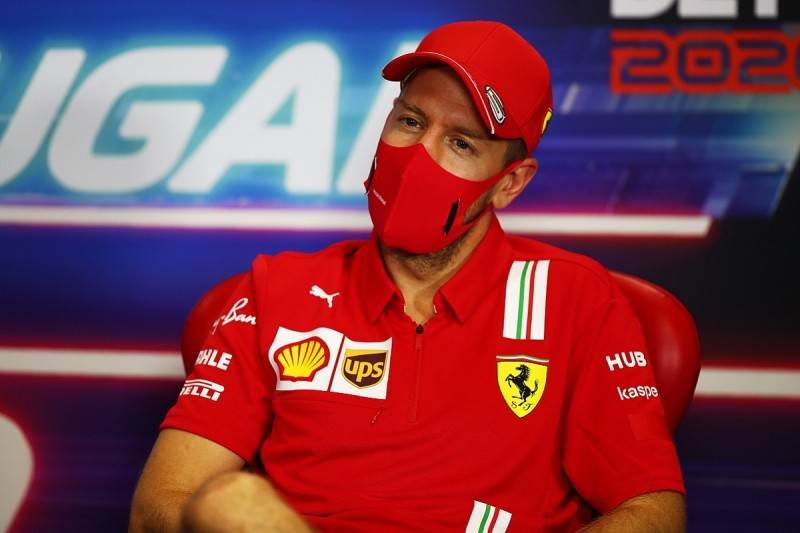 """Vettel wants to end difficult Ferrari F1 swansong season with """"dignity"""""""