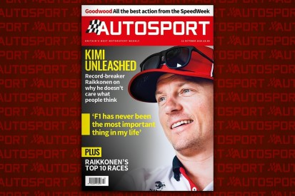 Magazine: Raikkonen interview and Goodwood SpeedWeek
