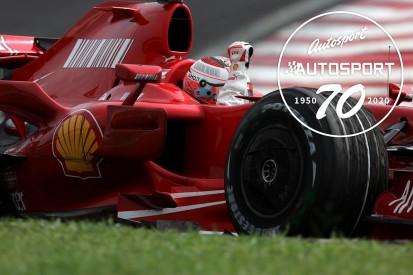 Autosport 70: The ups and downs of Raikkonen's 2007 F1 title triumph