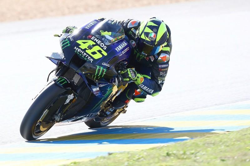 "Rossi celebrating MotoGP top fives like a win ""sad"" - Stoner"